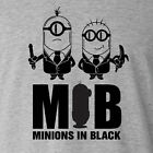 Funny Minion T-shirt MIB Minions In Black despicable me maxxis Costume ALL SIZES