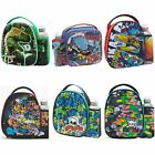 Smash Boys Junior Lunch Bag and Bottle Set - Kids School Lunchbox Box NEW