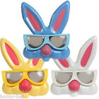 Play EASTER BUNNY RABBIT GLASSES Costume Mask Kid Toy Basket Party Favor-3pc SET