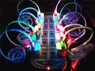 10 x Colors LED Flash Happy Face USB Charger Cable For iPhone4 4S iPad2 3 Touch