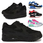 Nike Junior Kids Infant Air Max 90 Sports Boys Girls Athletic Trainers Shoes