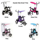 Kyootsi Smart Trike Three Wheel 4 in 1 Kids Tricycle with Parent Handle