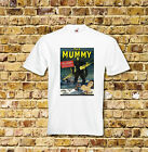Christopher Lee The Mummy Horror Film T Shirt Black or White or Red