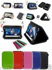 """Speaker Leather Case+Gift For 7"""" Alcatel One Touch Pixi (3) 7/Pixie 7 Tablet GB5"""