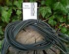 Bundles of 10 Black Leather thongs, thonging, whips, straps, strips, laces, cord