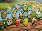 DISNEY NOVELTY FRIDGE MAGNET GLASS DOME CABOCHON ELSA POOH TIANA ABU PRINCESS
