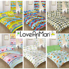 Children's Design Kids Baby Bedding Cotbed Covers Duvet Quilt Bed Covers Curtain
