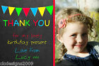 Personalised Photo Girl Boy Thank You Cards