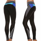 Ladies Yoga Gymwear. Running Exercise Full-length Tights Blockout Activewear