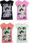 """GIRLS NEW ONE DIRECTION """"HE'S THE ONE """" TOP T SHIRT AGES 7 TO 14 YEARS"""