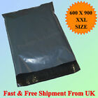 24 x 35 Inches Strong Grey Plastic Mailing Poly Postage Bags Cheapest on Ebay