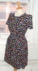 Baylis Knight Liquorice Allsorts Short Sleeve 60's TUNIC Dress Handmade UK Gift