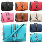 Ladies Designer Multi Pocket Zip Round Clutch Women Small Satchel Purse Wallets