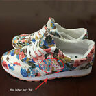 NEW Retro Women's  Floral Canvas Shoes Fashion Skateboard Sports Sneakers Shoes