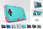 Motorola Droid Turbo XT1254 | TUFF Stand Hard/Soft Dual Layer Case Cover+PryTool