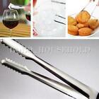 1/2/5/10X Ice Tongs Stainless Steel Kitchen Buffet Bar BBQ Food Sweet Wedding