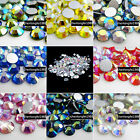 1440p Crystal AB colour DIY flatback Faceted Rhinestones for nail art phone case