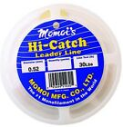 Momoi Hi-Catch Leader Clear White 50yds! CHOOSE SIZE