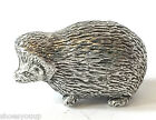 Hedgehog Figurine, Hand made from lead free English Pewter