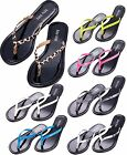 New Womens Flip Flops Shoes Thong Flat Beach Sandals Slipper Size 6 7,8,9,10