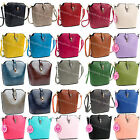 Ladies Mini Basket Style Top Buckle Messenger & Cross Body Small Satchel Handbag
