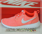 2015 Nike Wmns Rosherun Hot Lava Pink White 511882-802 US 6~8.5 Roshe Run Shoes