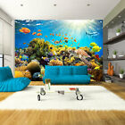 Huge wall mural photo wallpaper non-woven art Ocean Coral Reef  b-A-0002-a-a
