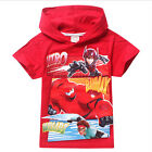 Cute Big Hero Six 6 Baymax Boys Hoodie Cap T-Shirts for 2-7 Years Old Kids Child