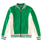 Mens Fila Settanta Kelly Green Track Top