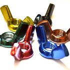 M4 GWR Colourfast® Wing Nuts - A2 Stainless Steel - Coloured Nut