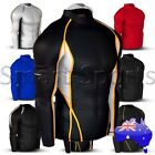 New Mens Compression Long Sleeve Top Baselayer Skins | ALL TYPES AND COLOURS