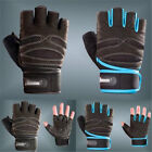 Weight Lifting Gym Gloves Workout Wrist Wrap Exercise Training Fitness Keep Fit