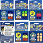 Putty Buddies 3 Pairs Flo-Tek Putty Silicone Swim Ear Plugs Floating Ear Band-it