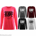 Womens Dope Diamond Print Jumper Ladies Couture Casual Pullover Sweatshirt Tops