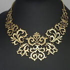 Vintage Women Ladies Fashion Jewelry Hollow Pattern Choker Collar Necklace
