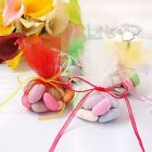 "9"" / 24cm Round Tulle Bags Wedding Party Favour Gift Candy Jewellery Pouch"