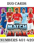 2014/2015 Match Attax  #401-420 Duo 14/15