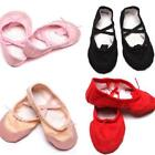 Children Fashion Colorful Soft Canvas Ballet Dance Shoes For Girls Teenage Z