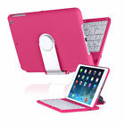 Swivel Rotary Stand Cover Case Bluetooth Wireless Keyboard for iPad Mini 1 2 3