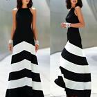 Women #S Bandage Bodycon Sleeveless Evening Sexy Party Cocktail Long Boho Dress