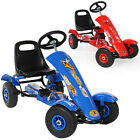 New Kids Go Kart Pedal Ride On Car Rubber Tires Childrens Cart GoKart new