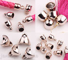 Внешний вид - Wholesale Rose Gold Plated Bead End Caps For Leather Cords Jewelry Finding DIY