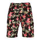 Mens Schott Camden30 Regular Fit Black Hawai Beach shorts
