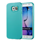 For Samsung Galaxy S6 S7 Edge S8 Plus Case Silicone TPU Rubber Protective Cover