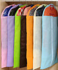 New 6 Colors Clothes Dress Garment Cover Bags Dustproof Travel Storage Protector