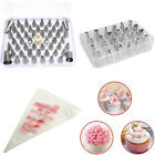 24/52 Nozzles & L/S 100 pcs Icing Piping Bags Tip Set Cake Decorating Sugarcraft