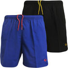 Fred Perry Shorts Mens Swim Short Black or Blue Swimming Trunks 30 32 34 36 38