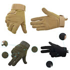 Retro Military Tactical Airsoft Hunting CS Shooting Motorcycle Army Gloves Green