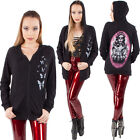 Too Fast Rat Baby Rockabilly Goth Sweater Burnout Hoodie Bound Day of the Dead