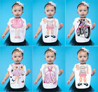 Just Add a Kid Baby Girls Infants Bibs Various Designs 100% Cotton One Size